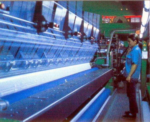 """Производство тканей на ткацких станках и машинах  """"Malimo """" ."""